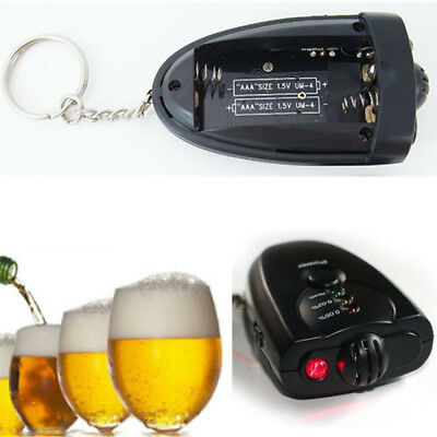 Portable Digital Breath Alcohol Sensor Tester Breathalyser Detector Keychain