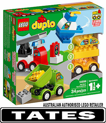 LEGO 10886 My First Car Creations DUPLO from Tates Toyworld
