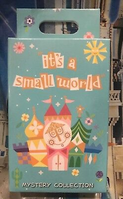Disney Parks Its A Small World One Pin Box With Two Random Pins New OE