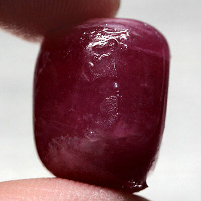 42.3Ct. Remarkable! Rough Top Blood Red Natural Ruby Madagascar Free Ship!