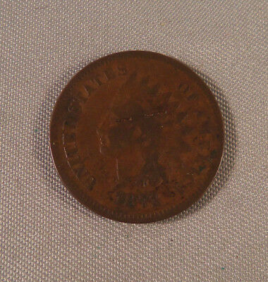 U.s. 1871 Indian Head One Cent **rare Date**