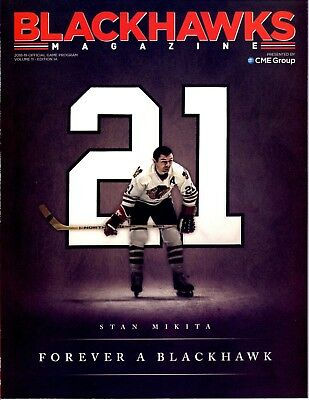 Chicago Blackhawks Opening Night Stan Mikita Game Program 10/7/18