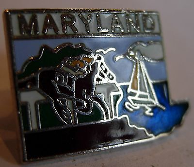 ANDREWS AFB MD SCRIPT LAPEL HAT PIN US AIR FORCE ONE MARYLAND PRESIDENT FLEET