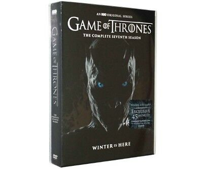 Game Of Thrones Seventh Season 2018 (4 Disc Set) New Sealed Us Seller Great Show