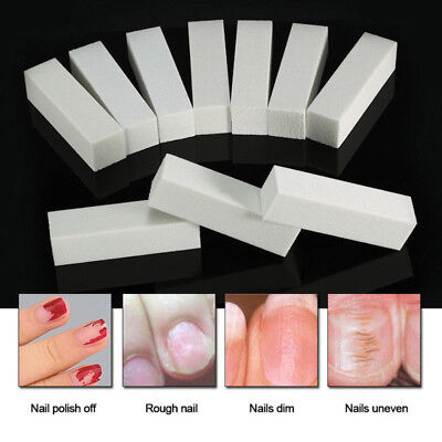 4 Side Nail Art Block File Sanding Polishing Buffer Buffing Sponge Tool Manicure