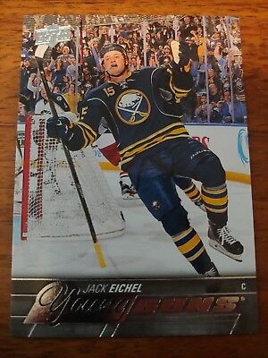 2015-2016 Ud Series 2 Jack Eichel Young Guns Rc Sp Rookie #451