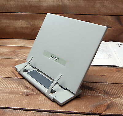 Book Document Holder Portable Reading Stand Desk Study SimpleGray Korea Reader