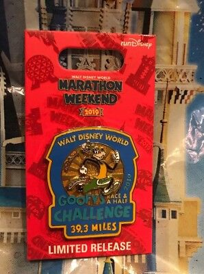 Run Disney Marathon Weekend 2019 Goofy Challenge 39.3 Pin LR New Logo Pin