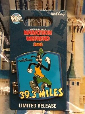 Run Disney 2019 Marathon Weekend Goofy Challenge 39.3 I Did It Pin New LR