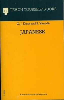 Japanese (Teach Yourself) by Yanada, S. Hardback Book The Cheap Fast Free Post