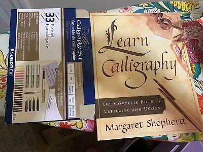 Calligraphy Book And Pens