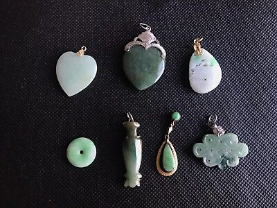 Antique Chinese Jadeite Lots