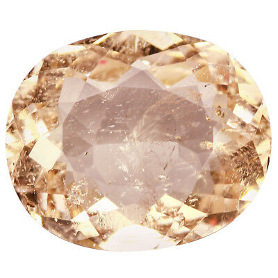 5.23Ct Charming Oval cut 13 x 11 mm 100% Natural Pink Morganite