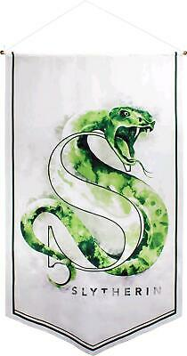 Ikon Collectables Harry Potter - Slytherin Watercolour Satin Banner Free Shippin