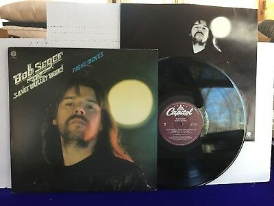 Bob Seger & The Silver Bullet Band NIGHT MOVES 1978 Capitol Purple label