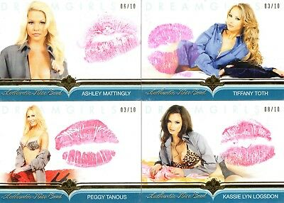 2018 Dreamgirls Update TIFFANY TOTH 03/10 Authentic KISS CARD Benchwarmer Gold
