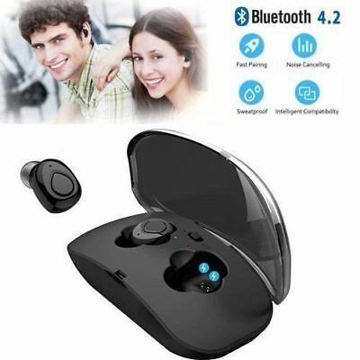 Twins Wireless Stereo Earbuds Bluetooth Earphone Headphones For iPhone Samsung
