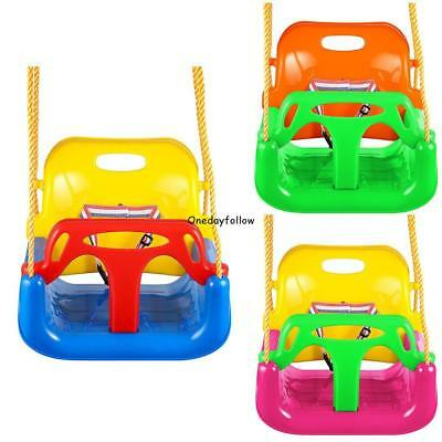 3 In 1 Jungle Gym Swing Seat Heavy Duty Chain Playground Swing Set Childs Gifts