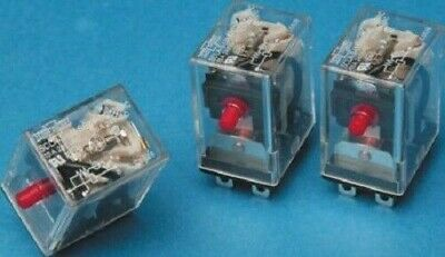 Song Chuan 4PDT SCLD-W-B-LM-4 Non-Latching Relay PCB Mount, 24V ac Coil, 5 A-New