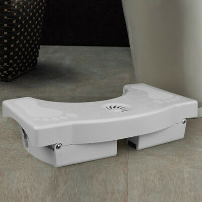 Foldable Non-Slip Toilet Squatty Step Foot Stool Potty Help Prevent Constipation