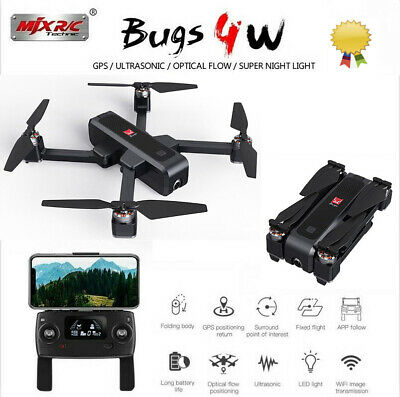 US MJX Bugs 5W 1080P 5G Wifi FPV Camera Altitude Hold RC Drone Quadcopter U8G2