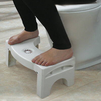 Children Toilet Step Stool Bathroom Potty Squat Aid For Constipation Relief AU
