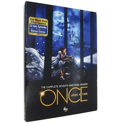 Once Upon a Time: The Complete Seventh Season (DVD 2018, 5-Disc Set) Sealed New