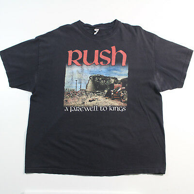 "Vintage ALSTYLE RUSH ""A Farewell to Kings"" 2XL T-Shirt"
