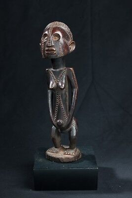 Tabwa Female Figure, D.R. Congo, African Arts, Timber Carving