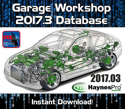 Garage Workshop Database Technical Automotive Repair Software 2017.3 Download