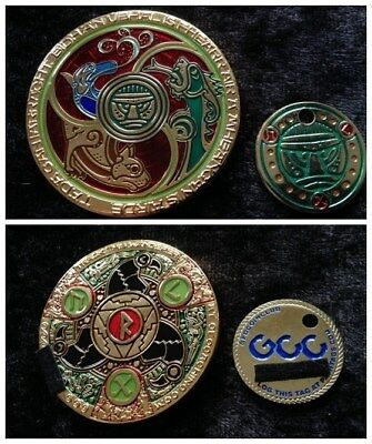 BRONZE AGE geocoin - ACTIVATED - mint condition