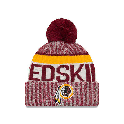 Washington Redskins Beanie NFL Football New Era Sideline One Size Wintermütze
