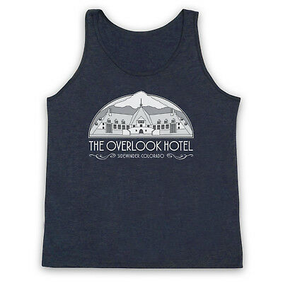 The Shining Unofficial The Overlook Hotel King Kubrick Adults Vest Tank Top