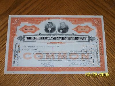Set of 6 Lehigh Coal and Navigation Company. Two Types