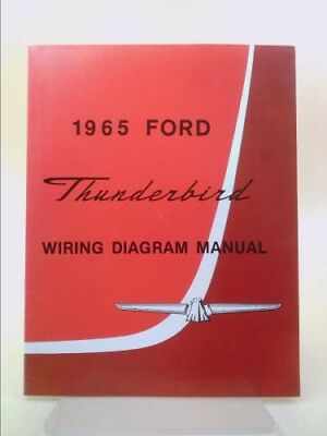 1965 ford thunderbird wiring diagram manual reprint by ford