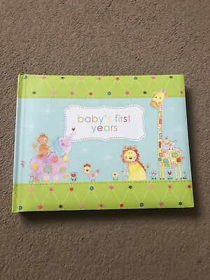 Baby First Years Book