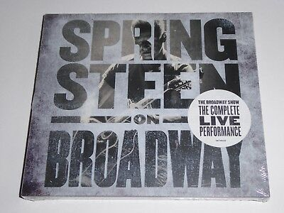 Bruce Springsteen - On Broadway (2018) - 2-Disc NEW SEALED GENUINE CD ALBUM SET