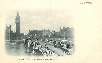 Cp Nuage London Clock Tower And Westminster Bridge