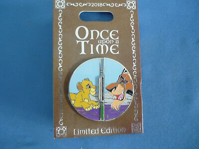 LION KING   Disney Pin ONCE UPON A TIME Limited E Disneyland 2018 NEW