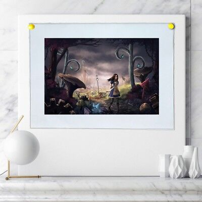 alice in wonderland Painting Home Decor HD Canvas Print Wall Art Picture 103068
