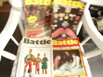 BATTLE FOR WARGAMERS MAGAZINE 14 ISSues  1977/78HISTORY UNIFORMS WEAPONS BATTLES
