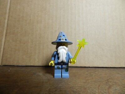 personnage figurine minifig LEGO magicien mage druide merlin  (B11)