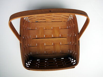 Longaberger Handwoven Basket, Single handle