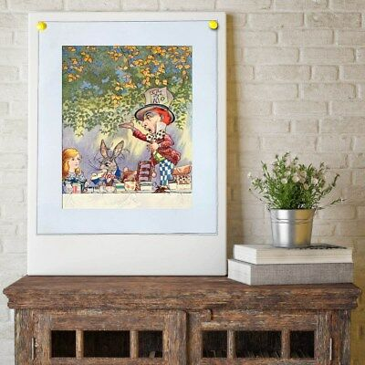 alice in wonderland Painting Home Decor HD Canvas Print Wall Art Picture 103063