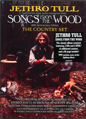 Jethro Tull – (NEW) Songs From The Wood 40th Anniversary Edition The Country Set