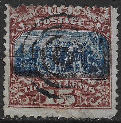 Scott#119  Us Stamp    Columbian  15 Cent   Used