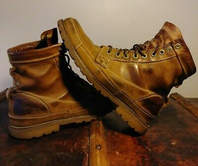 d5f9ce1a2ce1 Men s Timberland Earthkeepers Original Leather 6   Boot Brown Burnished  Size 9.5
