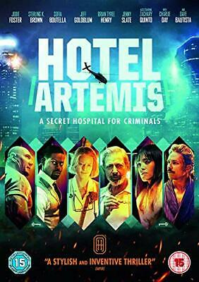 Hotel Artemis [DVD] [2018] - DVD  BWVG The Cheap Fast Free Post