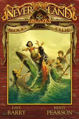 Blood Tide (Never Land Books) by Pearson, Ridley Book The Cheap Fast Free Post
