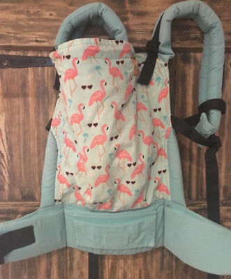 Standard Pink Flamingo Tula baby carrier